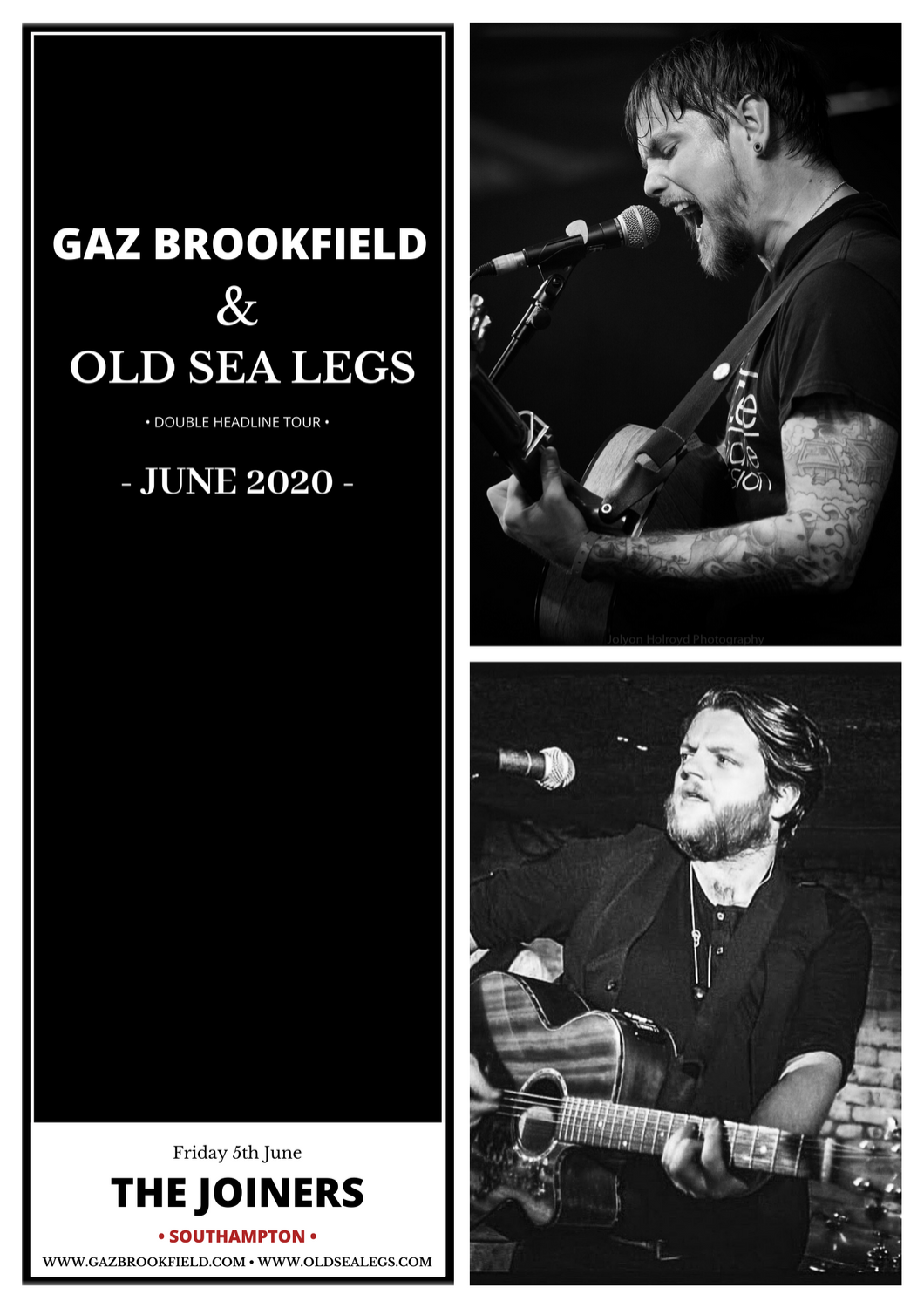 GAZ BROOKFIELD + OLD SEA LEGS
